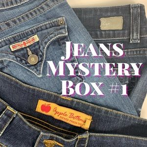 3 Pr Premium Jeans for Resellers, Mystery Boxes